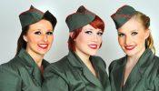 Wedi'i ganslo: VE Day Celebration:  The Siren Sisters