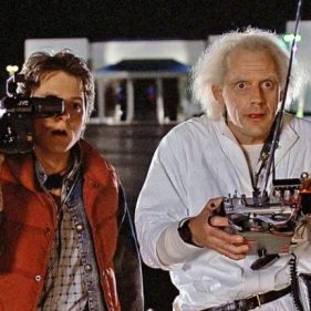 Back to The Future (PG) Noson Ffilm Glasur