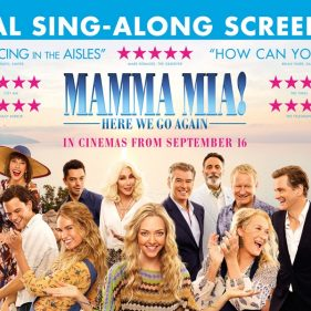 Mamma Mia: Here we go again (PG)