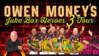 Wedi'i ad-drefnu: Owen Money's Jukebox Heroes 3 Tour