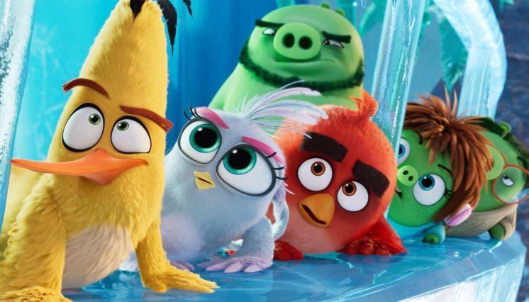 The Angry Birds Movie 2 (U)
