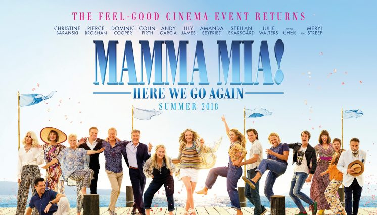 Mamma Mia: Here we go again (certificate tbc)
