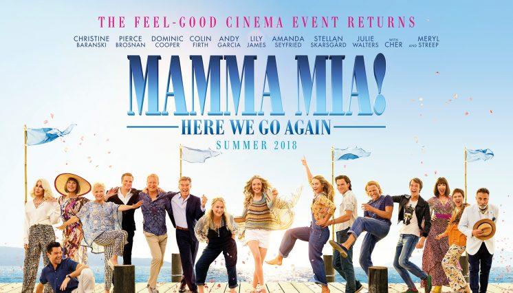 Mamma Mia 2: Here We Go Again (PG)