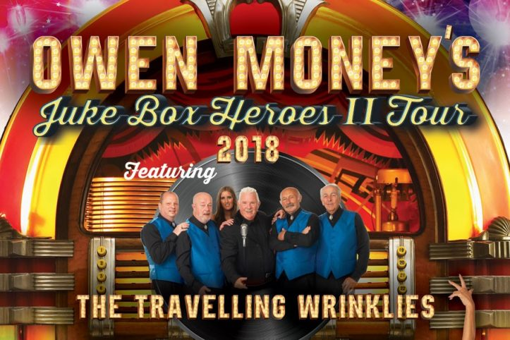 Just Announced - Owen Money's Jukebox Heroes 2 Tour
