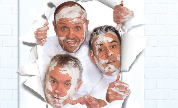 Art - three man; one painting; much disaster!