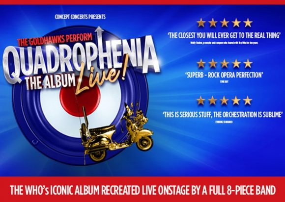Now on Sale: Quadrophenia The Album - Live!