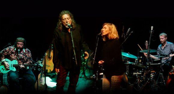 Newydd ei cyhoeddi Saving Grace gyda Robert Plant a Suzi Dian
